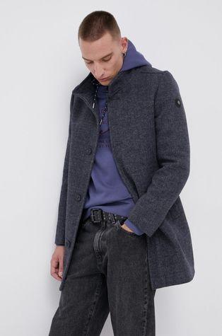 Tom Tailor - Płaszcz z domieszką wełny