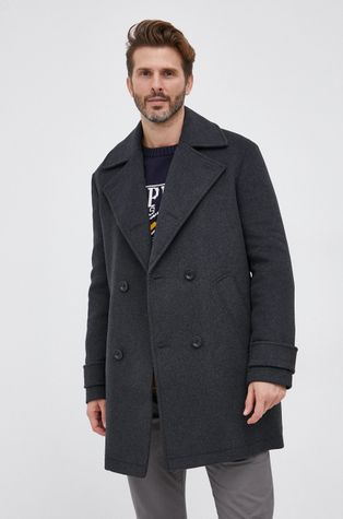 Guess - Palton din lana