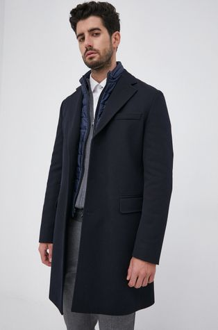 Boss - Palton din lana