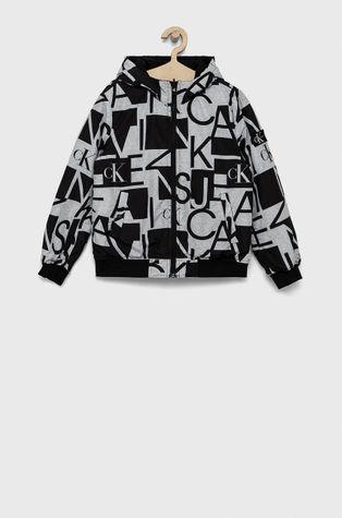 Calvin Klein Jeans - Detská obojstranná bunda