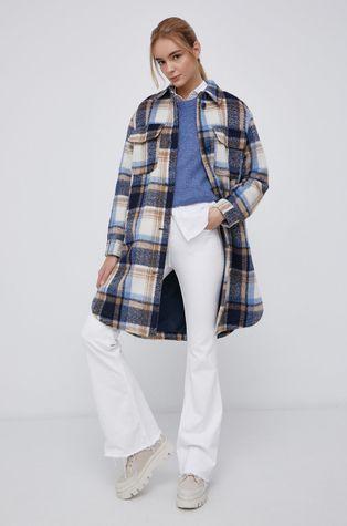 Tom Tailor - Kabát gyapjú keverékből