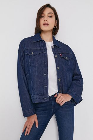 Levi's - Bavlněná džínová bunda