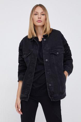 Pepe Jeans - Bavlněná džínová bunda Alice
