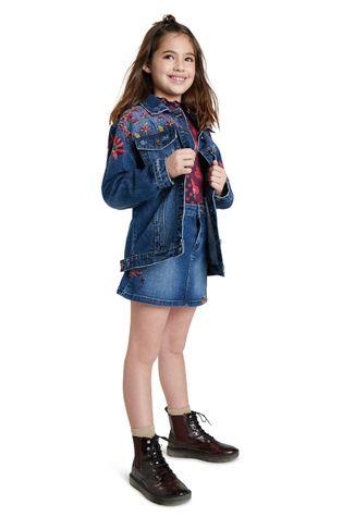 Desigual - Kurtka jeansowa dziecięca