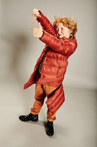 Fluff - Detská páperová bunda