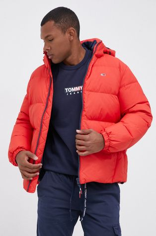 Tommy Jeans - Μπουφάν με επένδυση από πούπουλα