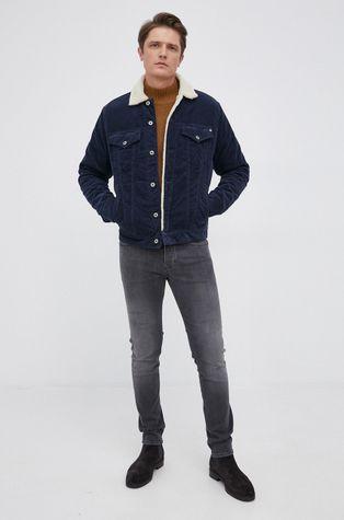 Pepe Jeans - Kurtka sztruksowa Pinner DLX Cord