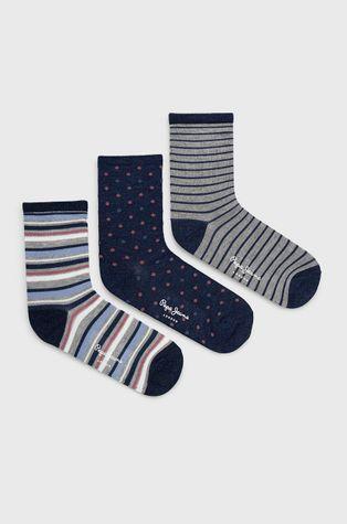 Pepe Jeans - Ponožky Dolla (3-pak)