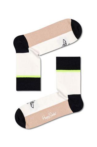 Happy Socks - Ponožky Done And Done Half Crew
