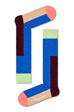 Happy Socks - Ponožky Block It Knee High