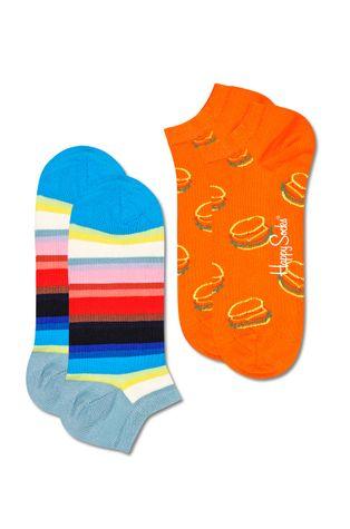 Happy Socks - Skarpetki Lunch Time Stripe (2-Pack)