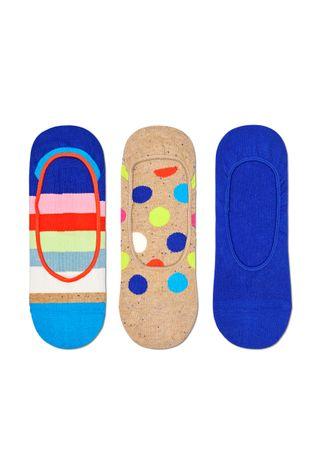 Happy Socks - Skarpetki Big Dot Stripe Liner (3-Pack)