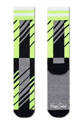 Happy Socks - Ponožky Scattered Stripe Crew