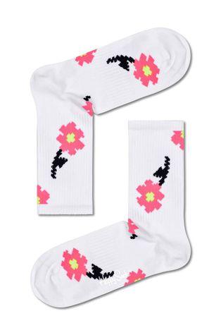 Happy Socks - Носки Pixle Flower 3/4 Crew