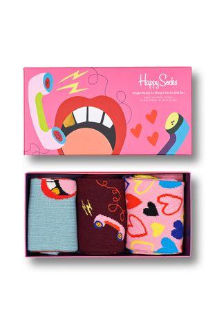 Happy Socks - Skarpetki Single Ready To Mingle (3-Pack)