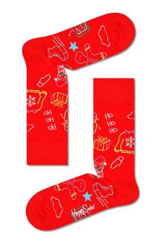 Happy Socks - Κάλτσες Ho Ho Ho