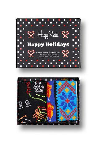Happy Socks - Κάλτσες Ho Ho Ho (2-pack)