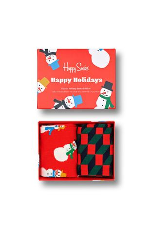 Happy Socks - Κάλτσες Snowman Socks Gift Set (2-pack)