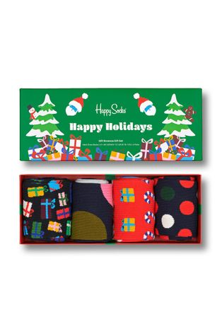 Happy Socks - Κάλτσες Gift Bonanza (4-pack)