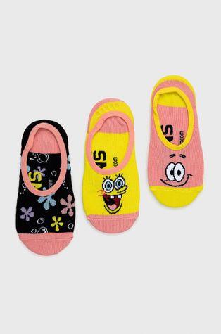 Vans - Zokni x Spongebob (3 pár)