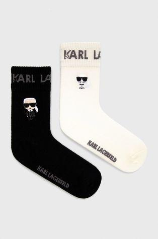Karl Lagerfeld - Κάλτσες από κασμίρ (2-pack)