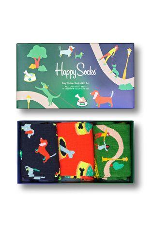 Happy Socks - Κάλτσες Dog Walking Gift Set (3-Pack)