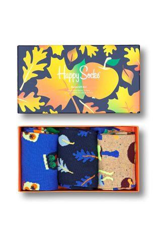 Happy Socks - Κάλτσες Fall Edition Gift Set (3-pack)