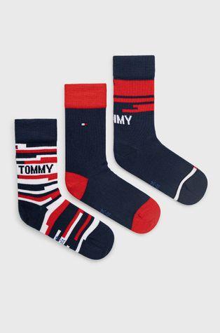Tommy Hilfiger - Detské ponožky (3-pak)