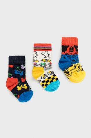 Happy Socks - Skarpetki dziecięce x Disney 3-PACK Gift Set