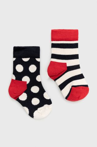 Happy Socks - Детски чорапи Stripe (2 чифта)