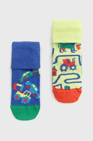 Happy Socks - Детски чорапи Countryroads Anti Slip (2 чифта)