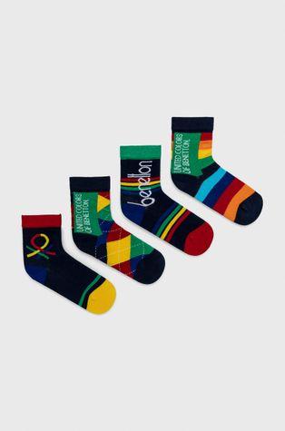 United Colors of Benetton - Skarpetki dziecięce (4-pack)