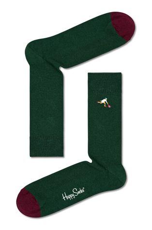 Happy Socks - Skarpetki Ribbed Embroidery Game
