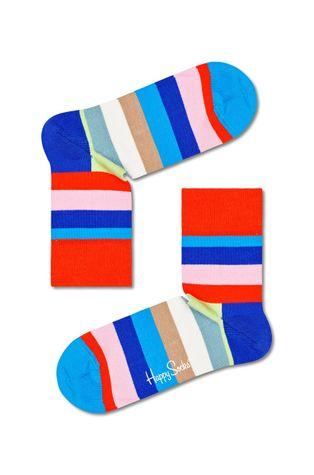 Happy Socks - Skarpetki Stripe Half Crew