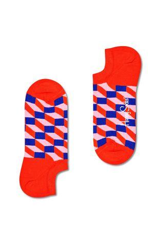 Happy Socks - Skarpetki Filled Optic No Show