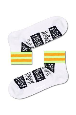 Happy Socks - Skarpetki Happy Stripe 1/4 Crew