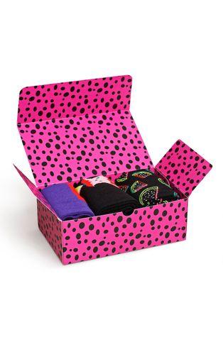 Happy Socks - Skarpetki Fruits Socks Gift Set (3-Pack)