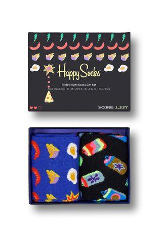 Happy Socks - Skarpetki Friday Night (2-Pack)