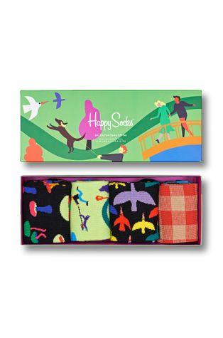 Happy Socks - Skarpetki Into The Park Socks (4-Pack)