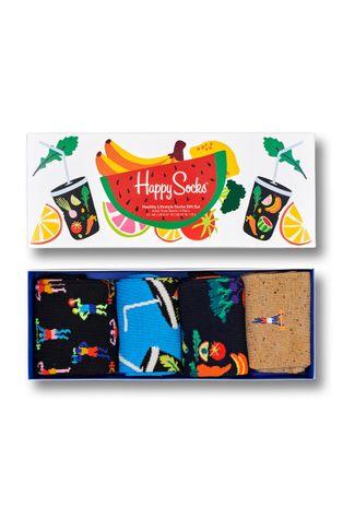 Happy Socks - Skarpetki Healthy Lifestyle (4-Pack)