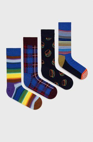 Happy Socks - Skarpetki Navy Socks Gift Set (4-Pack)