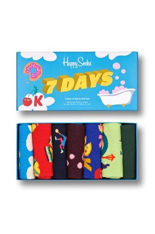 Happy Socks - Skarpetki 7 Day Socks Gift Set (7-Pack)