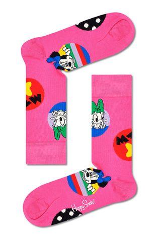 Happy Socks - Skarpetki x Disney Daisy & Minnie Dot