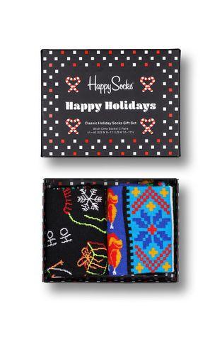Happy Socks - Κάλτσες Ho Ho Ho Socks Gift Set (2-pack)