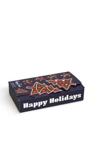 Happy Socks - Κάλτσες Gingerbreat Cookies Socks Gift Set (2-pack)