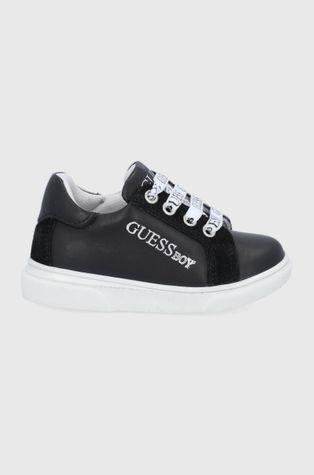 Guess - Dětské kožené boty