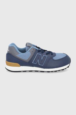 New Balance - Παιδικά δερμάτινα παπούτσια GC574LX1