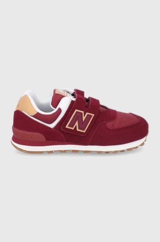 New Balance - Παιδικά παπούτσια σουέτ PV574AD1
