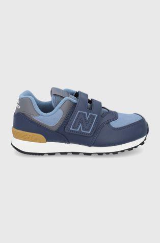New Balance - Buty skórzane dziecięce PV574LX1