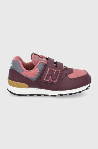 New Balance - Buty skórzane dziecięce PV574PX1